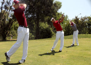 Men's golf team snatches second place