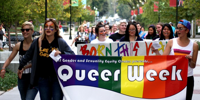 March celebrates coming out