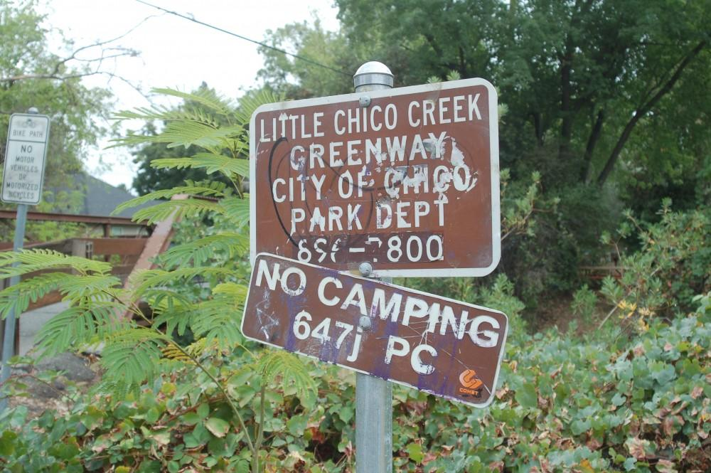Photograph by Dan Reidel A grant from the Environmental Protection Agency will allow Chico to identify areas, including Little Chico Creek, that could be contaminated with petroleum or other pollutants.