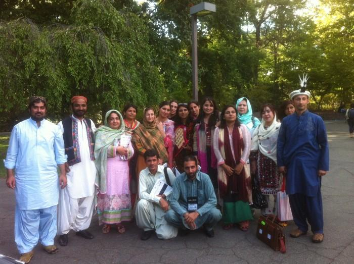 Professors from Pakistan tour California schools