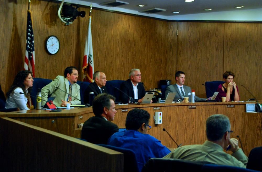 Photograph by Kasey Judge The Chico City Council met Tuesday, during which a new plan for the maintenance of a childrens park, Caper Acres, was approved.