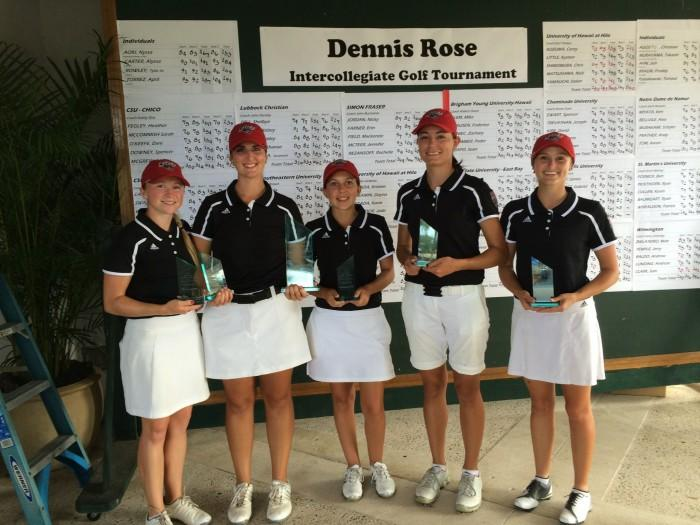 Women's golf grabs second win of season