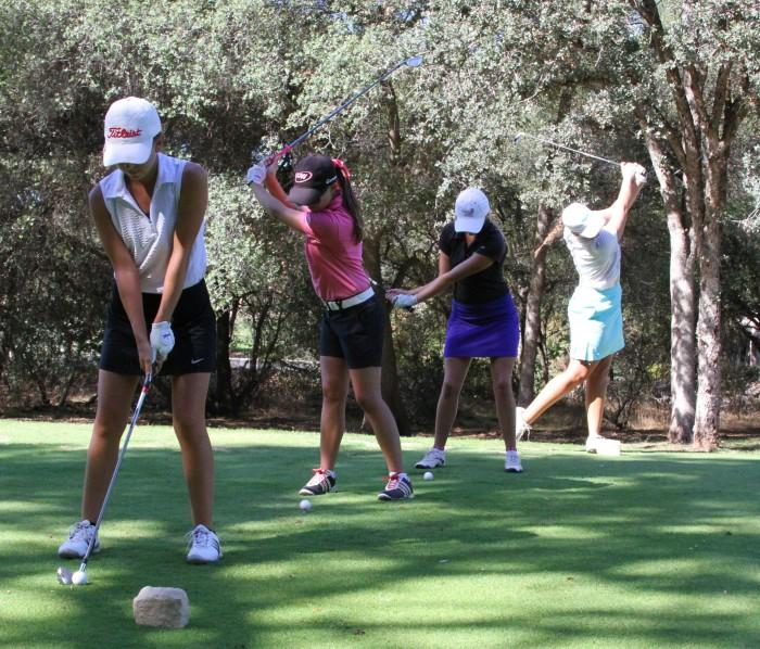 Women's golf team finishes solid first round