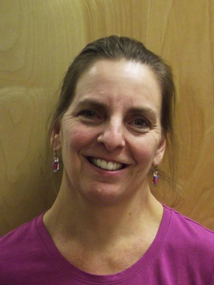 Sharon Demeyer, Admin Support Coordinater. Photo credit: Frances Mansour