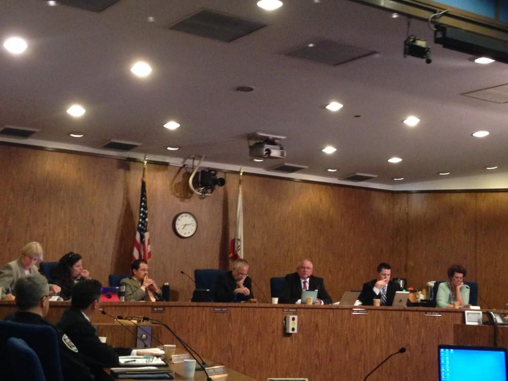 The City Council met at its Tuesday meeting to  is facing potential litigation related to properties outside of city limits being connected to the sewer system without authorization.Photo credit: Bill Hall