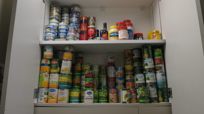The Hungry Wildcat pantry is stocked with food for those in need.Photo credit: Thomas Martinez
