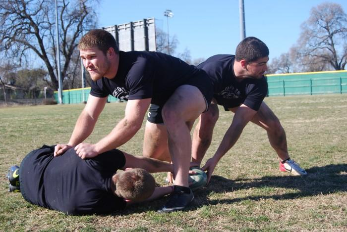 Former football players tackle rugby