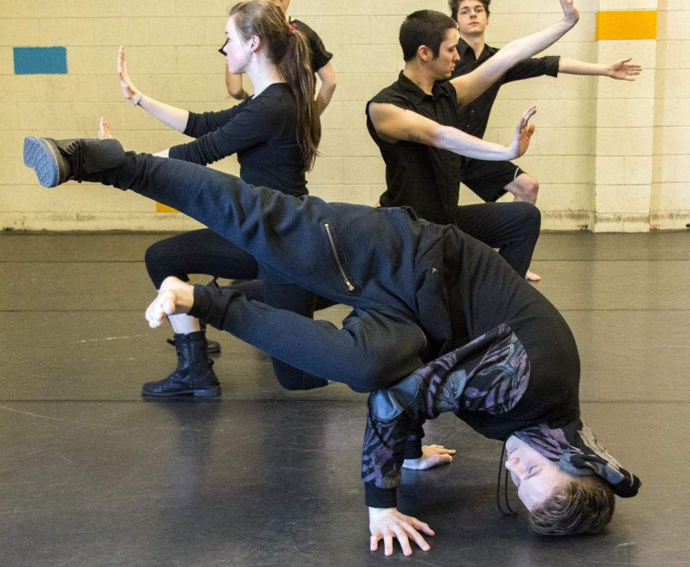 This contemporary dance, Royals, was choreographed by Jarrah Myles and performed during Sundays preview of Keeping Dance Alive!Photo credit: Grant Mahan