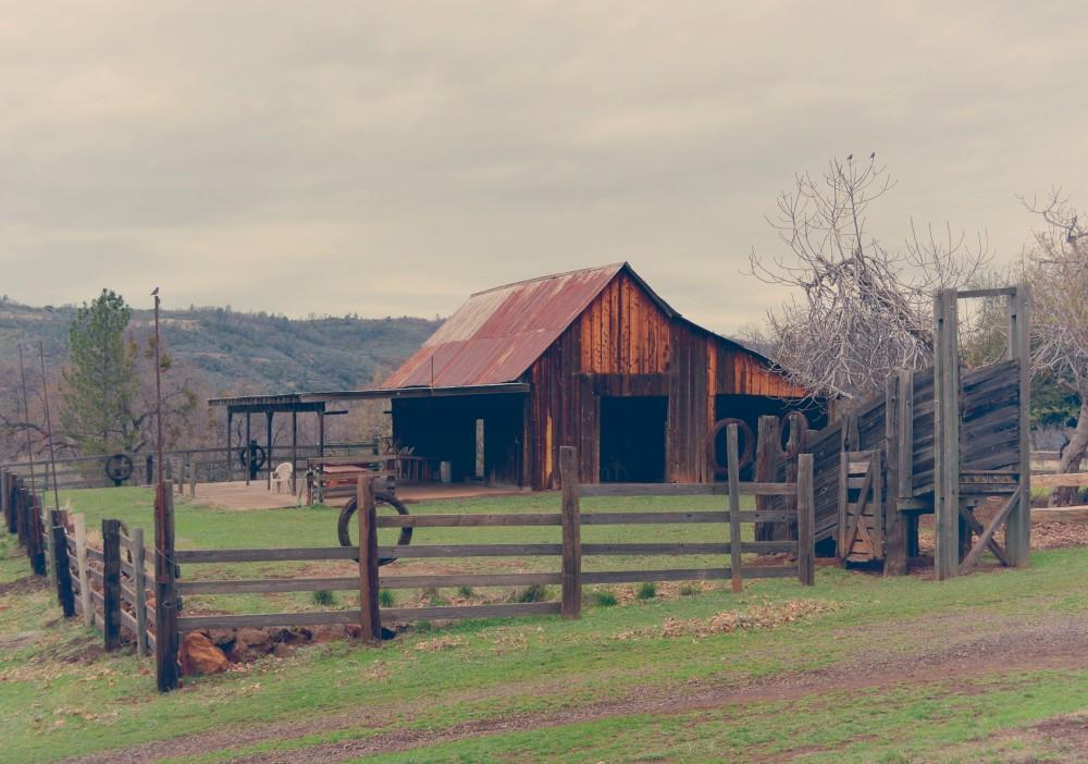 A barn sits on the Big Chico Creek Ecological Reserve.Photo credit: Jamie Stryker
