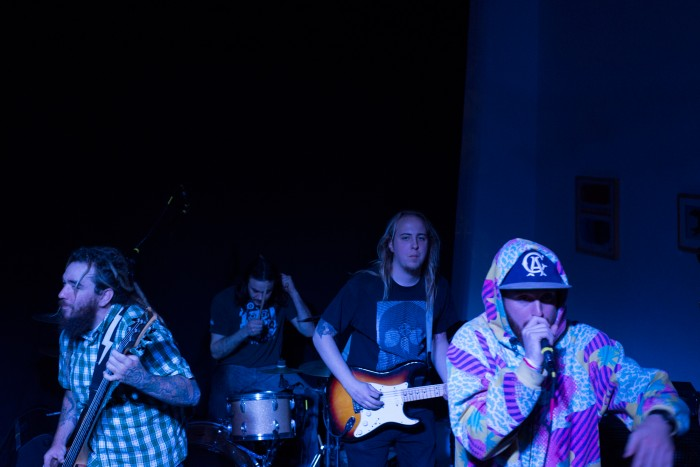 Audio Engineering Society raises money during a night of rockin' music