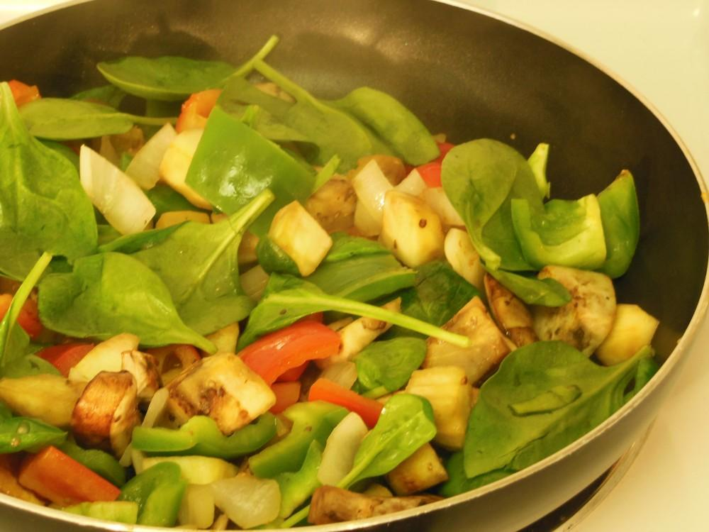 Saute a medley of vegetables for a simple stir-fry.Photo credit: Christina Saschin