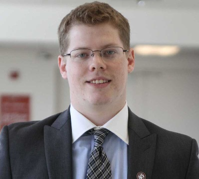 Jacob Arbogast, A.S. Vice President for Business and Finance.   Orion File Photo