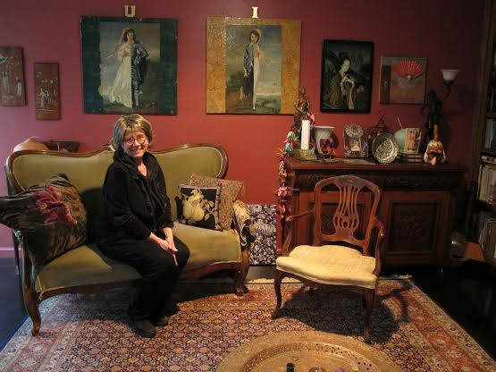 Maria Phillips, owner of Avenue 9 gallery, will display her collection of various media and artists on the Treasures of a Collection tour. Photo Courtesy of Tehama Group Communications.