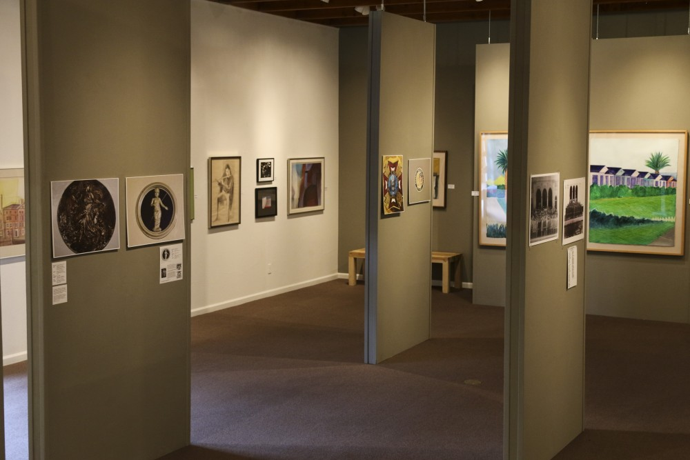 The Chico Art Gallery presents Reed Applegates private art collection.Photo credit: Grant Mahan