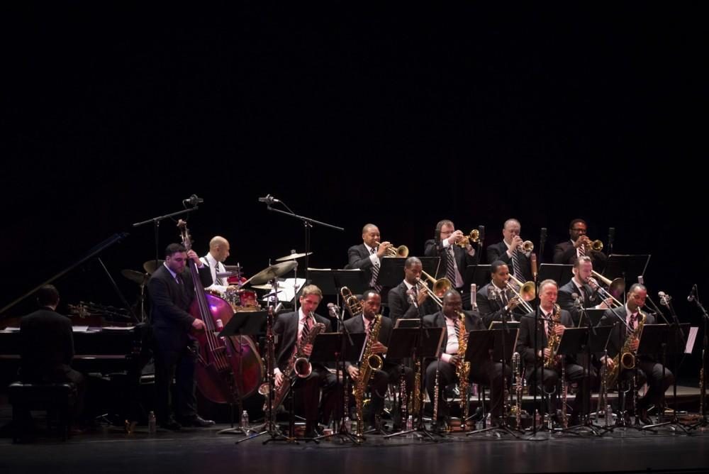 Jazz at Lincoln Center Orchestra performed Tuesday night at Laxson Auditorium. Photo credit: Matthew Vacca