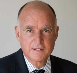 Governor Jerry Brown seeks fourth term