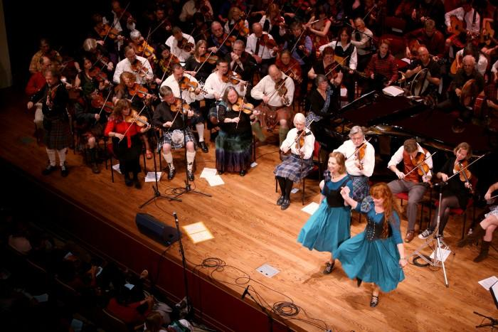 Fiddle ensemble delivers traditional energy
