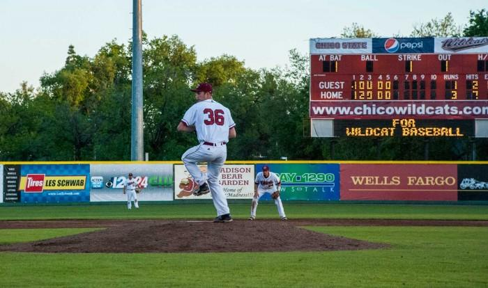 Baker tosses gem in win against Pioneers