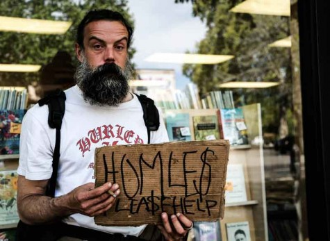 Downtown businesses struggle with homeless