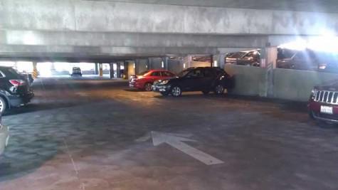 Reserved parking goes unused in lots