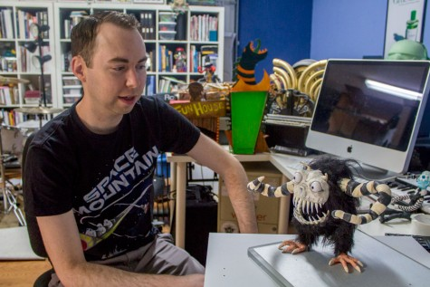 Alumnus light speeds into space in new stop-motion film