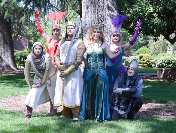 Photo by Sean Chen  CSU, Chico's 2014 Spring Musical,