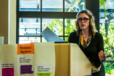 English students present poetry, projects at festival