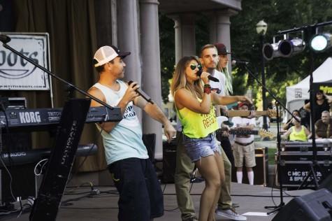 Groovin' to fresh, local reggae band