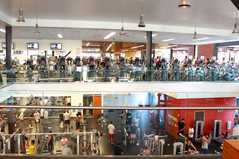 Equipment preference causes gender separation at gym