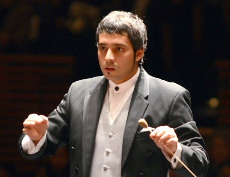 Christian Baldini is one of four conductors competing for the chance to become the North State Symphony's new music director. Photo courtesy of Chico State's School of the Arts.