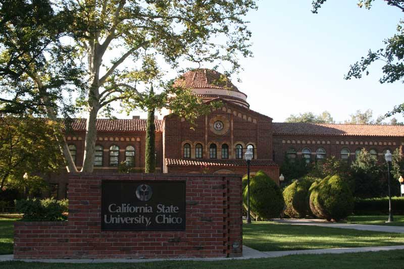 Chico State's Kendall Hall. Photo credit: David Mcvicker