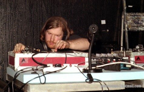 Photo of Aphex Twin, or Richard James, courtesy of Stephen Robinson via Flickr.