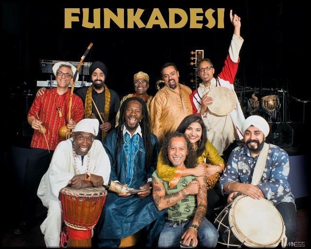 Funkadesi will kick off the 21st annual Chico World Music Festival Friday, Sept. 12 at 7:30 p.m. in Laxson Auditorium. Photo courtesy of Chico Performances.