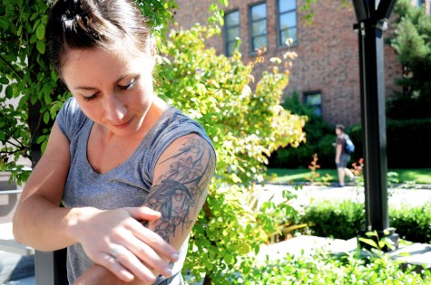 Humans of Chico State: Tattoos