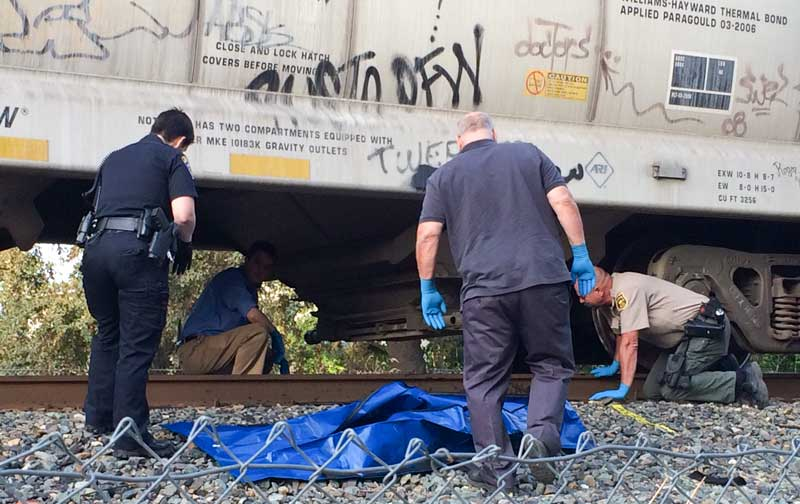 Woman struck, killed by train