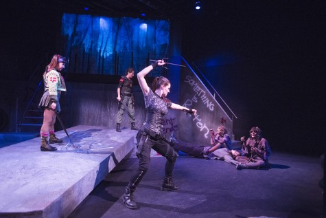 Zombies come alive in theatrical Shakespearean romp