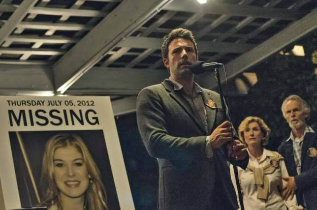 Ben Affleck portrays protagonist Nick Dunne, whose wife goes missing just before the couple's fifth anniversary. Photo courtesy of 20th Century Fox.