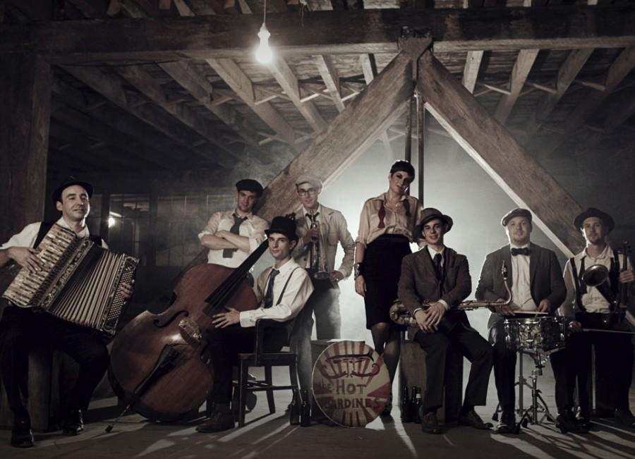 Chico Performances presents The Hot Sardines, a contemporary jazz group from New York. The band will bring energized, hip-swinging rhythms to Laxson Auditorium on Sunday. Photo courtesy of Chico Performances
