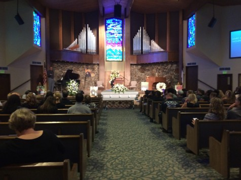 Funeral held for former student