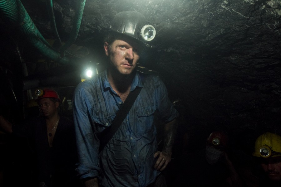 Brian Brazeal, a Chico State professor of anthropology, navigates the emerald mines in Colombia, Brazil, India and Zambia. Photo courtesy of Brian Brazeal