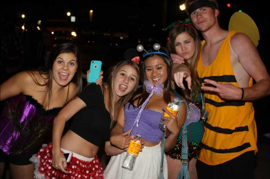 Partygoers on Halloween night Oct.31, 2013. The Orion file photo