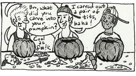 Pumpkin carving: Every bro's specialty