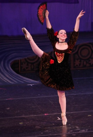 Sofia Allmon dazzles as a Spanish dancer in Chico Community Ballet's