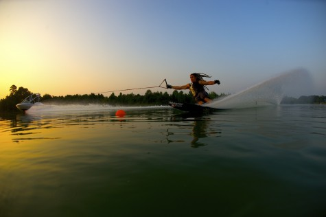 Former Wildcat finds success as water skier