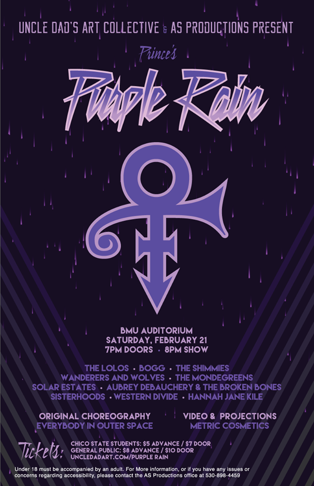 Local Artists Will Cover Prince In Purple Rain The Orion