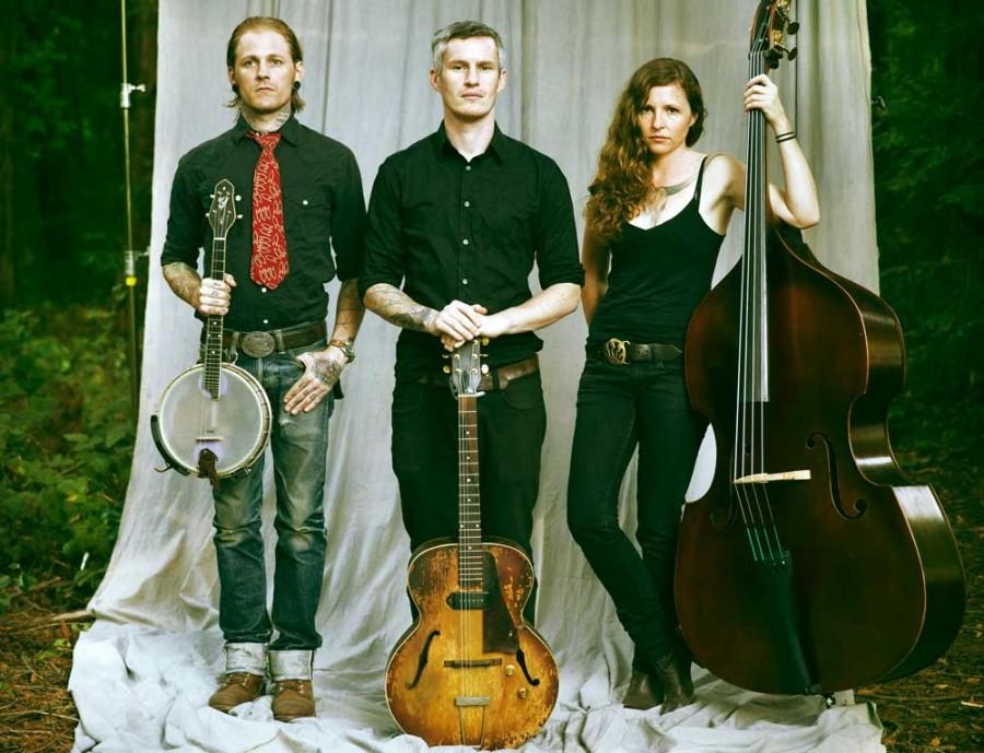 The Devil Makes three will be playing at the Senator Theater on Feb. 3. The Santa Cruz group's music is a blend of several styles, such as blues, folk, country, bluegrass and ragtime. Photograph courtesy of Andrea Cordova.