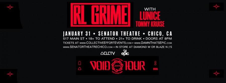 RL Grime plays the Senator Friday the 31st