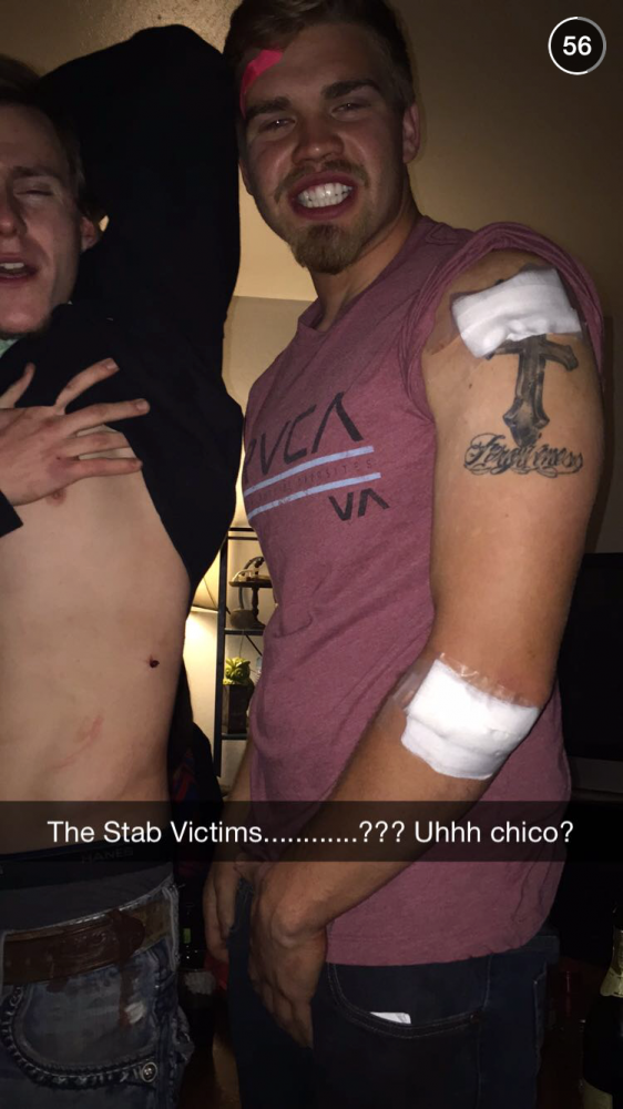 Stab victims