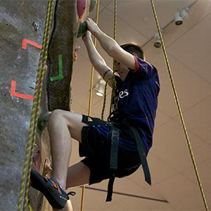 Students climb mountains at WREC