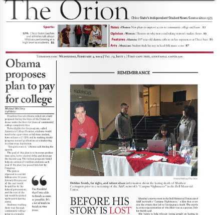 The Orion Vol. 74, Issue 3